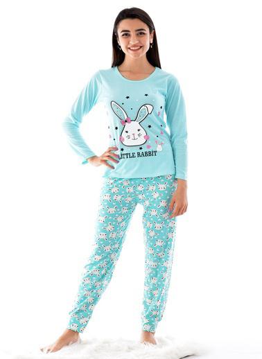 Pemilo Pijama Takım Turkuaz